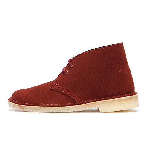 Clarks Desert Boot, Bottes femme Rouge (Terracotta)