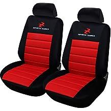 Sitzbezüge Sitzbezug Schonbezüge für Nissan X Trail Schwarz Modern MP-1 Set