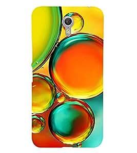 Colourful Bubbles 3D Hard Polycarbonate Designer Back Case Cover for Lenovo ZUK Z1