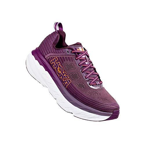 Hoka Bondi 6, Zapatillas de Running por Mujer, Morado (Arctic Dusk/Grape Juice...