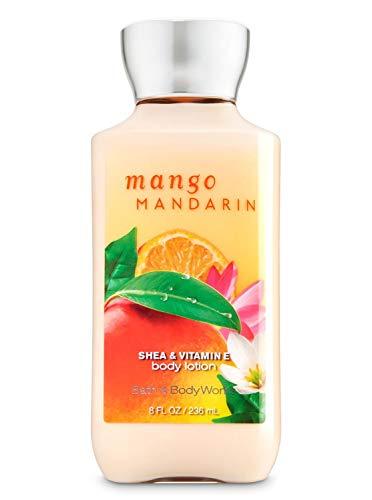 Bath & Body Works Lozione per il corpo al burro di mango e mandarino e vitamina E 236 ml