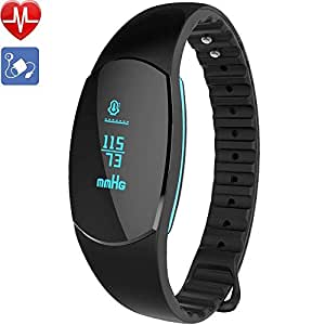 montre connect e ganriver fitness tracker d 39 activit cardiofrequencemetre poignet tension. Black Bedroom Furniture Sets. Home Design Ideas