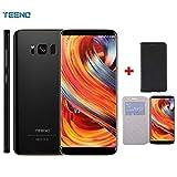 5.8' Pouces 4G TEENO Smartphone Pas Cher 3GO RAM+32GO ROM Téléphone Portable Débloqué - - Noir