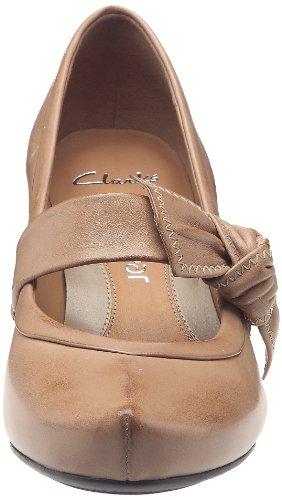 Clarks Azure Blossom 203470374, Scarpe col tacco donna Beige (Beige)