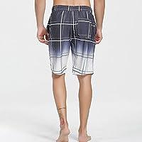 XiYunHan Pantalones de playa de verano pantalones casuales pantalones cortos de verano de gran tamaño de los pantalones sueltos de secado rápido estudiantes pantalones (Size : XXL)