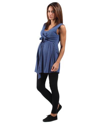 The Essential One - Top / Haut de grossesse et d'allaitement cache-coeur EOM56