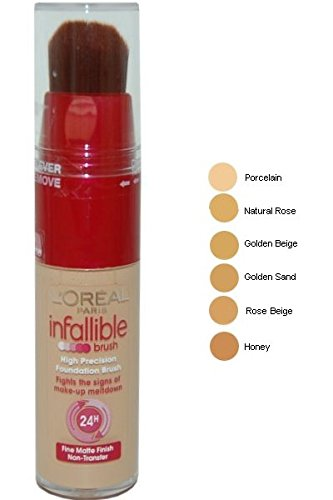 Infallible Foundation Brush by L'Oreal Paris Golden Beige: Amazon ...