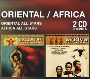 Coffret 2 CD : Oriental All Stars / Africa All Stars