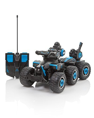 Remote Control Tank which Sprays Water, Electric Radio Controlled RC Car Boys Girls Toys, Shoots Water from the Turret