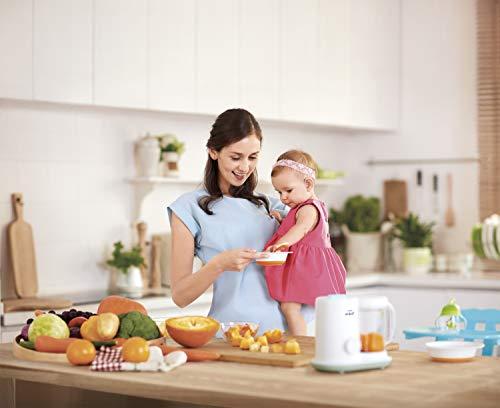 Philips AVENT 2-in1-Babynahrungszubereiter Dampfgaren & Mixen SCF862/02, weiß - 5