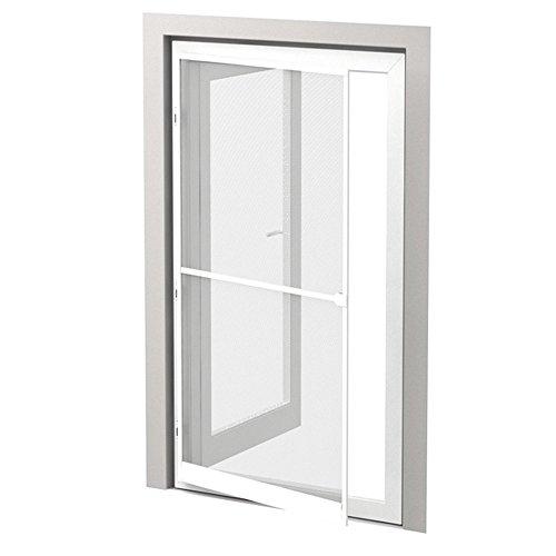 Insektenschutz Alu Rahmen System Profi für Türen 100 x 215cm weiß - kürzbar