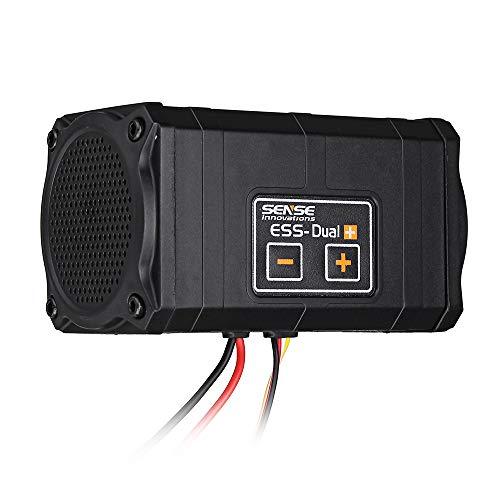 LaDicha Sense Innovations ESS-Dual 2 Altavoces Simulador De Sonido del Motor para...
