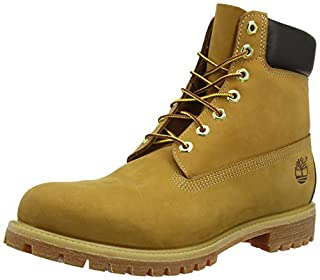 Timberland 6 inch Premium Waterproof, Bottes Homme, Jaune (Wheat Nubuck), 43 EU (B000G21FRE) | Amazon price tracker / tracking, Amazon price history charts, Amazon price watches, Amazon price drop alerts