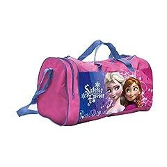 Idea Regalo - BORSA Borsone Frozen Elsa Anna Disney Tote da Viaggio Bambina Palestra CM. 44X20 H.23 - 57888