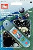 PRYM Druckknöpfe Sport & Camping, 15mm, Stahl Antikoptik, kein Nähen...