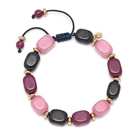 Lola Rose Women Quartz Strand Bracelet of Length 26cm