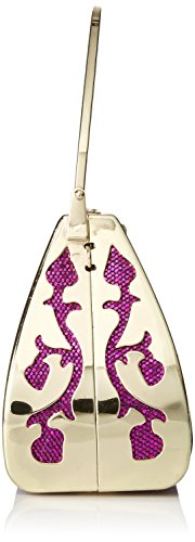 Damara Damen Funkelnd Pailletten Glamourös Handtasche,Violett Lila