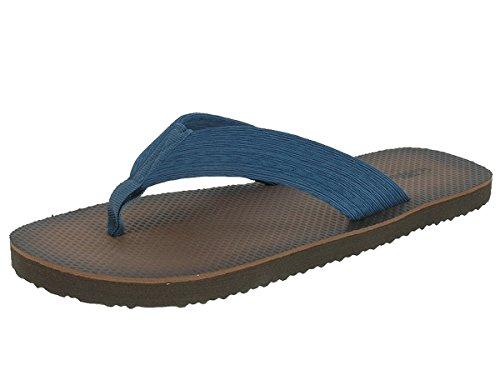 Beppi Herren Strandschuhe Zehentrenner Badeschuhe Blau