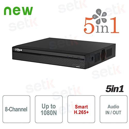 Dahua Technology - DVR 8 Canali XVR Dahua HD CVI TVI AHD ANALOGICO IP 1080N H.265+ - XVR4108HS-X1