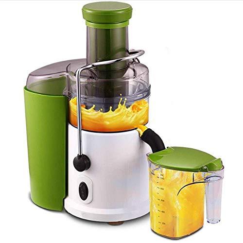 Yuany Saftpräparat Lebensmittel Saftmaschine Multifunktions-Haushalts Entsafter, elektrische Küche ganze Frucht Gemüse Zitruspresse, 1,5 Liter