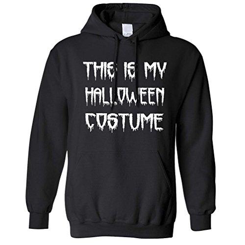 Dieses ist mein Halloween-Kostüm Lustige Spooky Scary Trick Treat Dad Kapuzenpullover