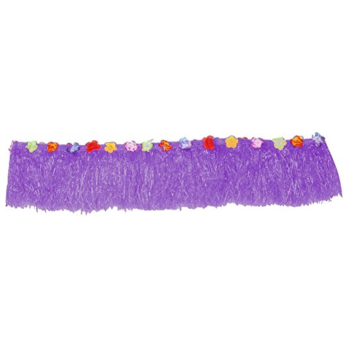 Multicolor Flores Hawaiian Luau tropicales Party mesa Hierba Rock Verano Playa partes Decoración