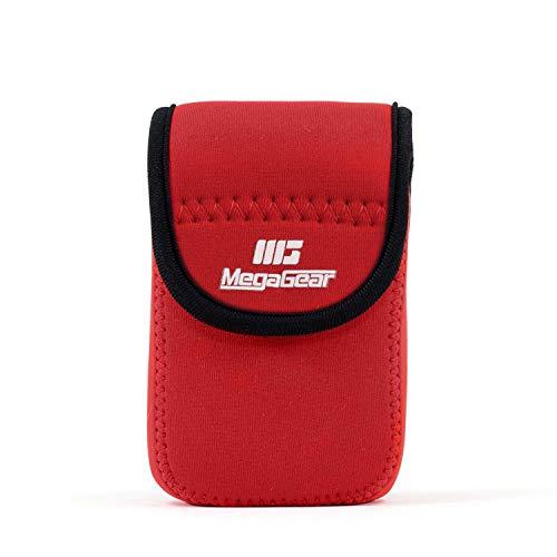 MegaGear Ultraleichte Kameratasche aus Neopren kompatibel mit Olympus Tough TG-6, TG-5, TG-870, TG-4, TG-860