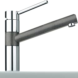 Franke miscelatore monocomando rubinetto da cucina FRAGRANITE 340 pietre grigio miscelatore e doccetta estraibile a leva