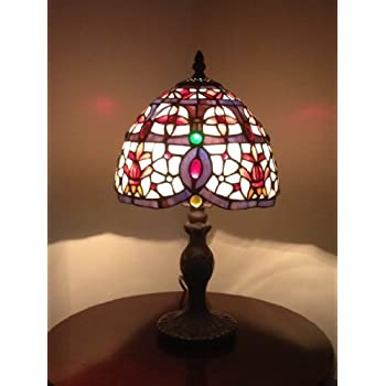 Perugia 8inch Tiffany Table Lamp