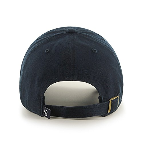 47 Brand Erwachsene Kappe MLB New York Yankees Clean Up Navy