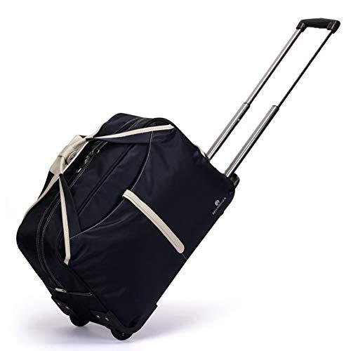 TY&GH Valise À Main Ultra-Légère - Chariot À Bagages À Deux Roues DE 19 Pouces / 22 Pouces - Unisexe - Bleu,Blue,19In
