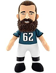 "NFL Philadelphia Eagles Jason Kelce Plush Figure, 10"", Green"