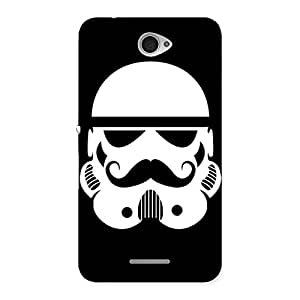 Gorgeous Mustach Black Back Case Cover for Sony Xperia E4