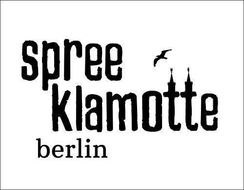 Jutebeutel bedruckt mit Berliner Göre - / Stoffbeutel / Jute Beutel / Einkaufsbeutel Baumwolle mit Sprüchen von SPREE Klamotte Berlin - Statement Sprüche Tasche - schwarz violett