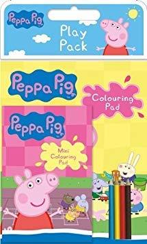 Peppa-Schwein-Spiel-Satz - Beute-Tasche-Füller des Strumpfs/Partei [[Toy]]