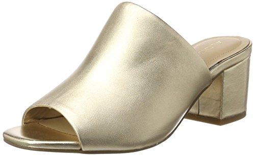 Aldo Alaska, Escarpins Bout Ouvert Femme Or (Gold 82)