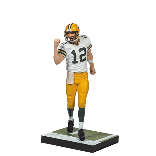 Image of McFARLANE NFL SERIES 34 AARON RODGERS GREEN BAY PACKERS ACTION FIGURE
