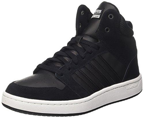 adidas CF Super Hoops Mid, Chaussures de Running Homme Noir (Core Black/Core Black/Rose Crystal White)