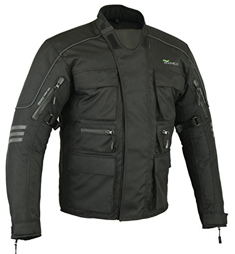 Mens RIDEX CJ1 Moto motocicleta chaqueta...