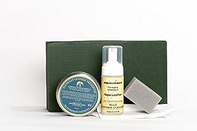 COLOURLOCK Produit nettoyant pour cuir & cire (éléphant en cuir Preserver) Kit–pour meubles, sièges de voiture, Sacs à main, vestes et accessoires
