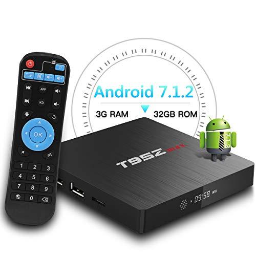 Foto T95Z Max Android TV BOX, 3GB RAM 32GB ROM Android 7.1.2 Amlogic S912 Octa...