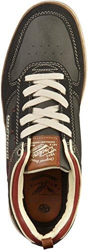Dockers by Gerli 42is001-777100, Sneakers Basses Homme Noir (Schwarz 100)