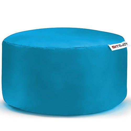 Sit&Joy Sitzkissen Sitzsack Bodenkissen Kissen Kinder-Sitzsack Sitzsack Kinder Bag Chair Aqua