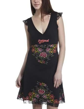 Desigual - Robe Valentine - F - M - Noir