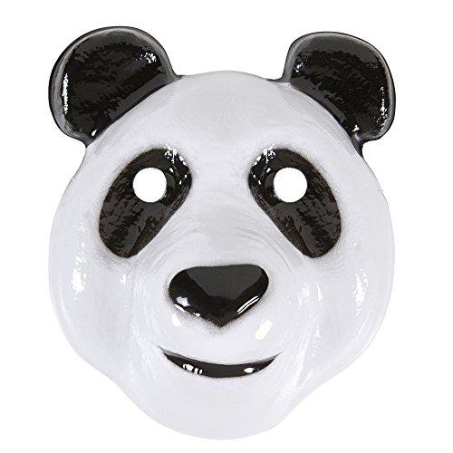 Pandamaske Cro Bärenmaske Hip Hop Pandabär Tiermaske Panda Maske Tiermasken Zoo Erwachsene Bären Tierkostüm Zubehör Tier Faschingsmaske Bär (Bär Maske Panda)