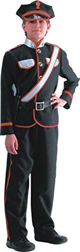 Costume carabiniere uomo 10 a 12 anni