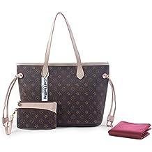 GetThatBag® Boston Monograma Bolsa de hombro bolso Shopper …