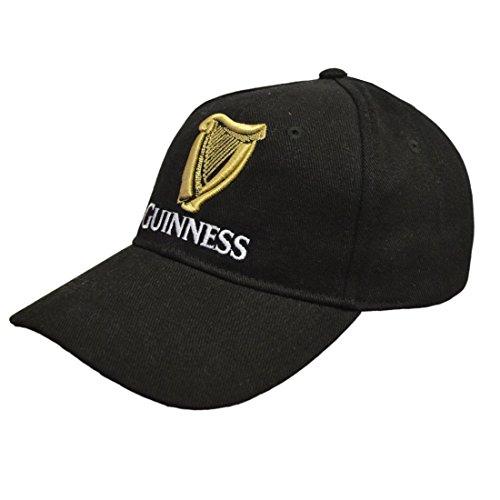 Guinness Herren BLK SIG EMB B/Ball Baseball Cap, Schwarz, Einheitsgröße Guinness Baseball