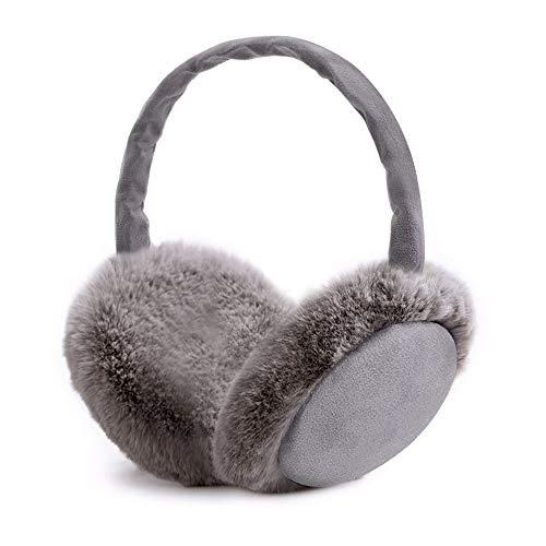 Ohrenwärmer , synmixx Winter Ohrenschützer Faltbare Verstellbar Waschbar Plüsch Ohrenschützer warme Kälteschutz Kalte für Damen, Herren und Kinder