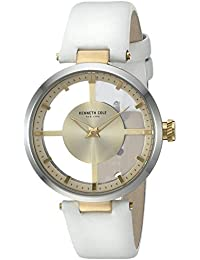 Kenneth Cole kc10022539 Damen-Transparent Armbanduhr
